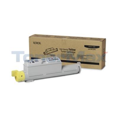XEROX PHASER 6360 TONER CART YELLOW 12K